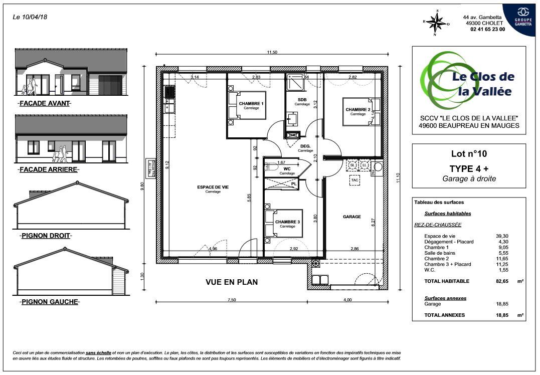 Clos De La Vallee Programme Immobilier Neuf A Beaupreau 49 Gambetta