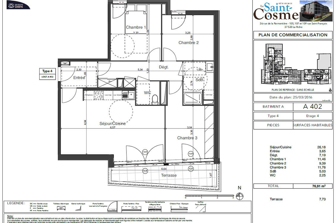 Le Saint Cosme Programme Immobilier Neuf A La Riche 37 Gambetta